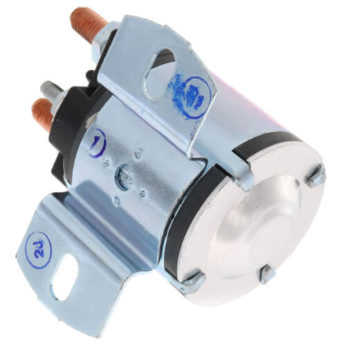 Solenoid w/ Continuous Duty, Normally Open Continuous Contact Rating 100 Amps (24 VDC Isolated Coil)