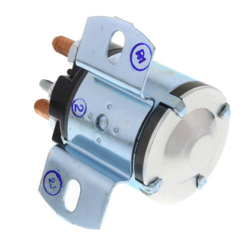 Solenoid, SPDT (36 VDC Isolated Coil), Continuous Duty, Contact Rating 100 Amps, Inrush 400 Amps