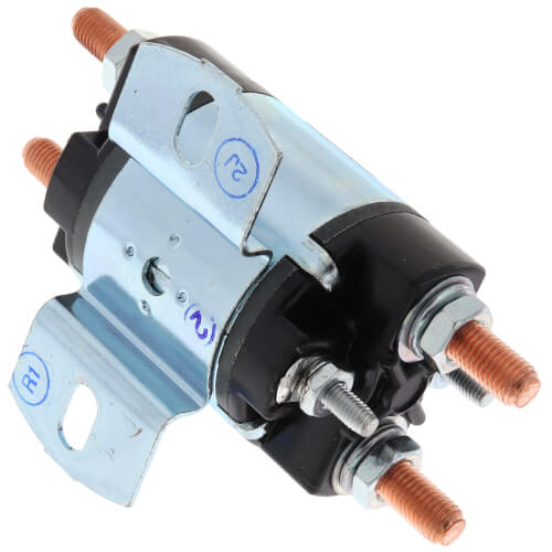Solenoid w/ Continuous Duty, Normally Open Continuous Contact Rating 100 Amps (12 VDC Isolated Coil)