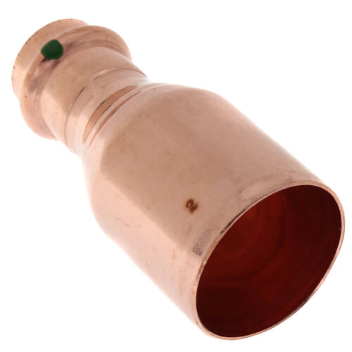 "1-1/2"" x 3/4"" Propress Copper Reducer FTG x Press Product Image"