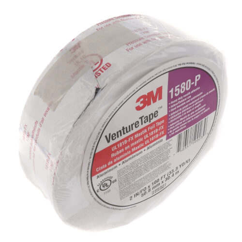 "Duct Joint Sealing Mastik Tape, Printed, UL-181B-FX Listed (2"" x 100') Product Image"