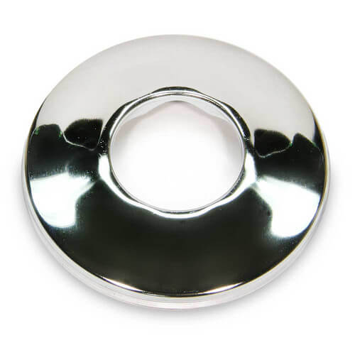 "3/4"" IPS Chrome Plated Steel Low Escutcheon (2-1/2"" OD)"