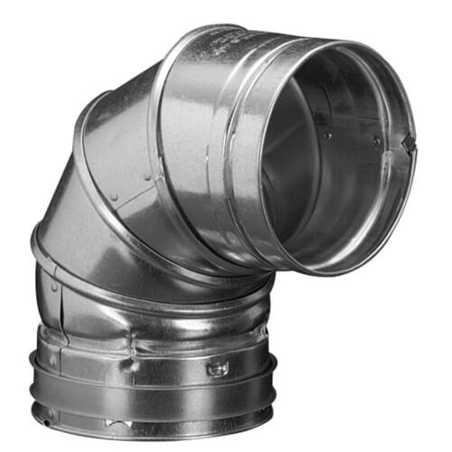 "6"" x 3' B Round Gas Vent Pipe (6RP3)"