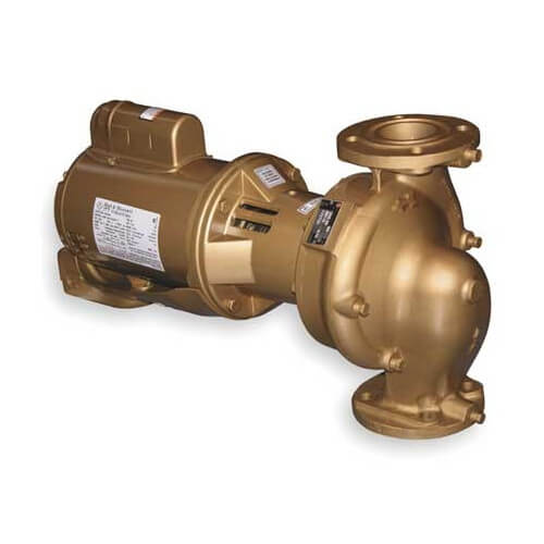 "1/2 HP B621S 1-1/2"" x 5-1/4"" In-Line Pump (1 PH, 115/208-230V)"