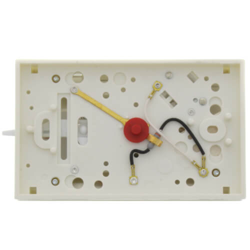 Non-Programmable, 1H/1C, Mechanical Thermostat w/ 3-Wire Zone Mounting Plate