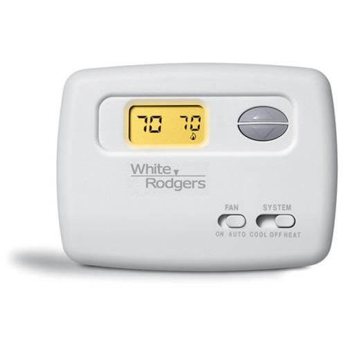 1f78 144 white rodgers 1f78 144 non programmable thermostat non programmable thermostat 24 volt or millivolt system horizontal product image