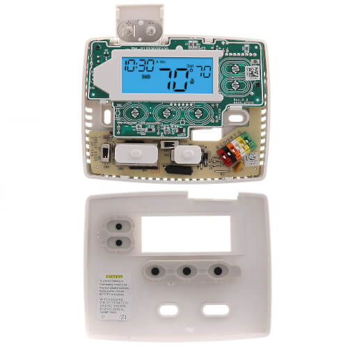 24 Hour Programmable Blue Thermostat, 1/1 Single Stage Product Image