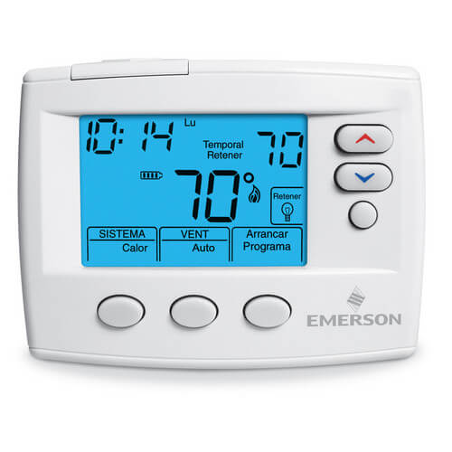 Blue Selecto Spanish Thermostat - Non-Programmable