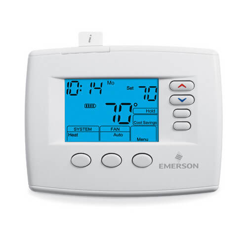 Emerson Blue 7-Day 3H/2C Programmable Thermostat