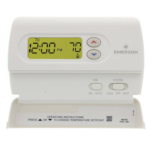 "Non-Programmable, 1H/1C,  Blue 2"" Digital Thermostat"