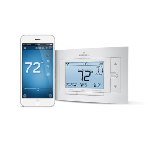 Sensi Wi-Fi Programmable Thermostat, 4H/2C Product Image