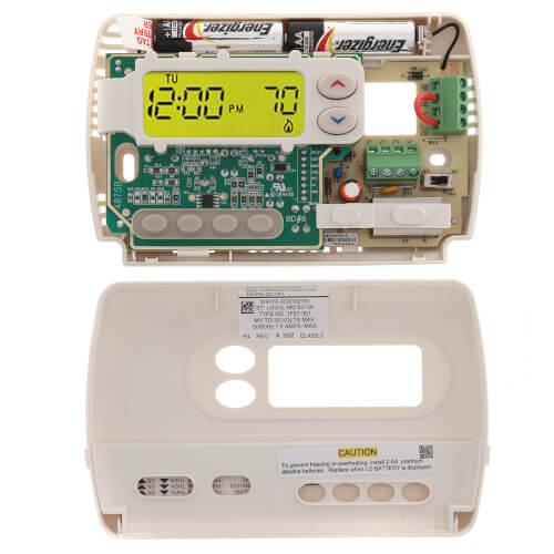7-Day Programmable Thermostat, 24 Volt or Millivolt system