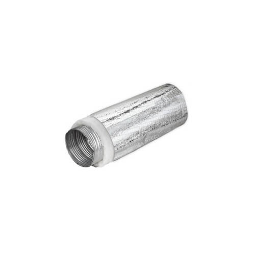 """6"""" x 8 Ft. Triple Lock Aluminum Duct w/ Mylar Sleeve, R8 (Insulated) Product Image"""