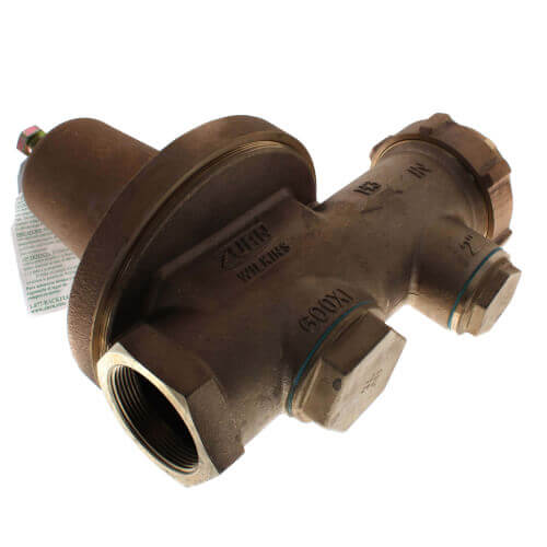 "1-1/2"" Lead Free FNPT Union x FNPT Pressure Reducing Valve"