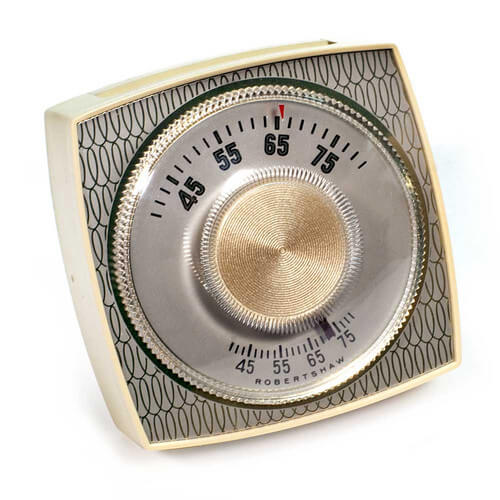 Mechanical 24V Thermostat, 2-Wire Heat Only  (39-75F) Product Image