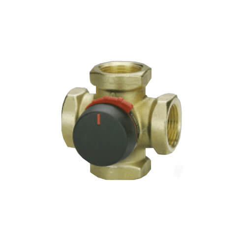 "Four Way Mixing Valve, 1-1/4"" F NPT"