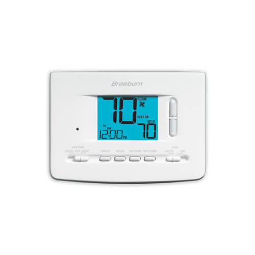 5-2 Day Programmable Thermostat (1 Heat/1 Cool)