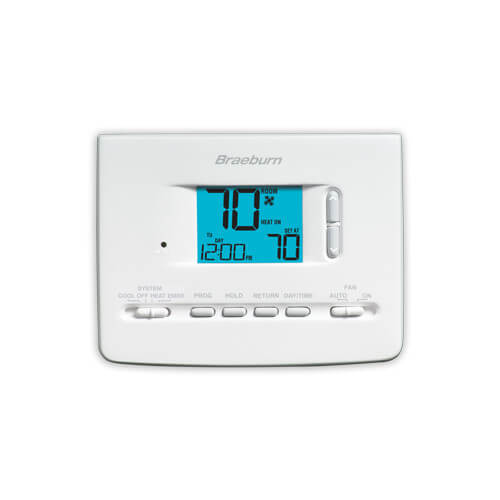 5-2 Day Programmable Thermostat (1 Heat/1 Cool) - Builders Series