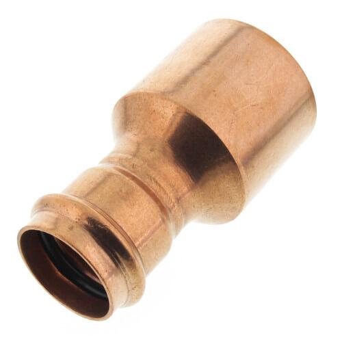 "2-1/2"" x 1-1/2"" Propress XL-C Copper Reducer FTG x Press (Lead Free) Product Image"