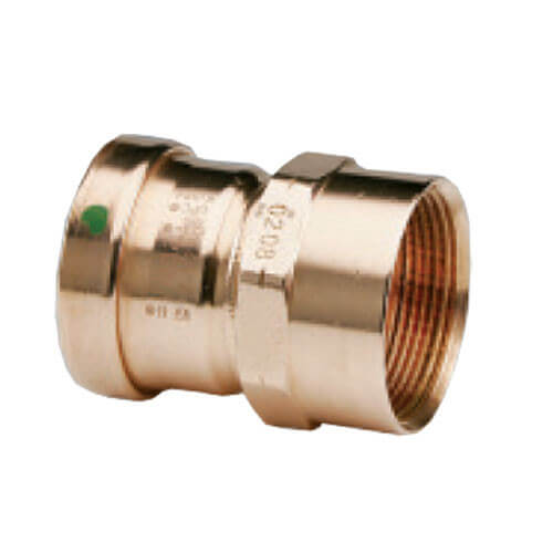 "3"" Propress XL-C Copper Coupling C x C - No Stop (Lead Free)"