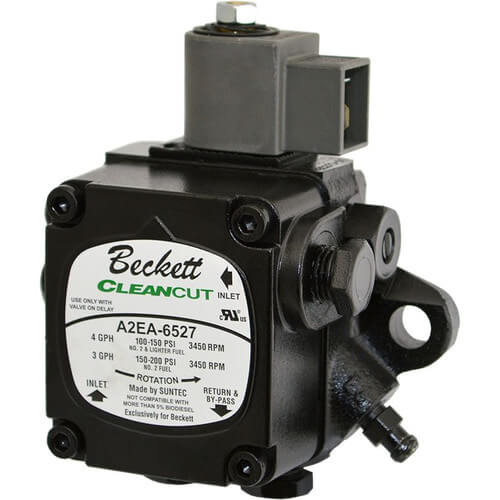 A2ea6527 beckett a2ea6527 single stage cleancut pump for Beckett tech support