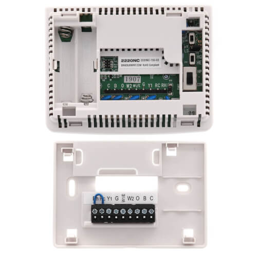 5-2 Day Programmable Thermostat (2 Heat/1 Cool) - Builders Series