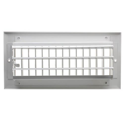 "8"" x 6"" White Sidewall/Ceiling Register (A618MS Series)"