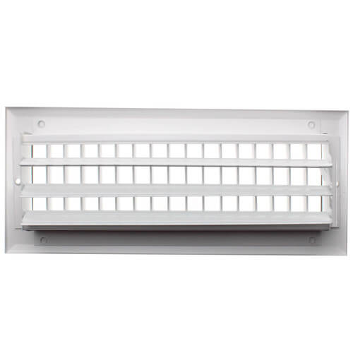 "12"" x 4"" White Sidewall/Ceiling Register (A618MS Series) Product Image"
