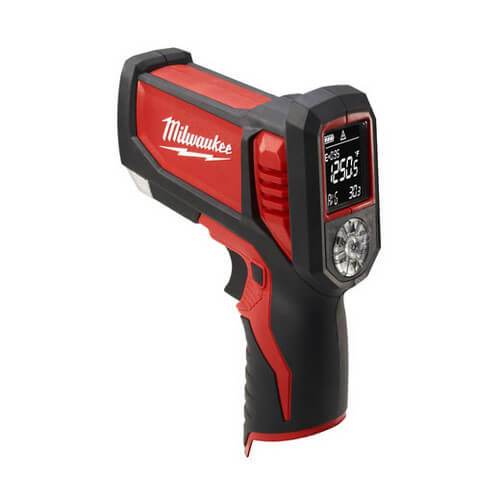 M12 Cordless Laser TEMP-GUN Thermometer for HVAC/R (Tool Only)