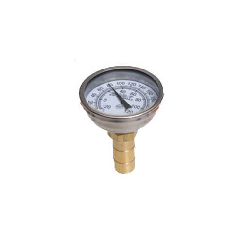 "3/4"" SharkBite Temperature Gauge, Lead Free (No Tee)"