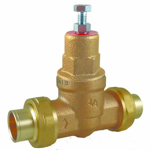 23159 0045 cash acme 23159 0045 1 1 4 eb45 double union sweat pressure regulating valve 45. Black Bedroom Furniture Sets. Home Design Ideas