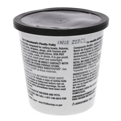 Sta Put Plumbers Putty (3 lb.) Product Image