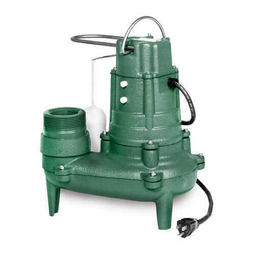 Model M268 Waste-Mate Automatic Cast Iron Sewage Pump - 115 V, 1/2 HP