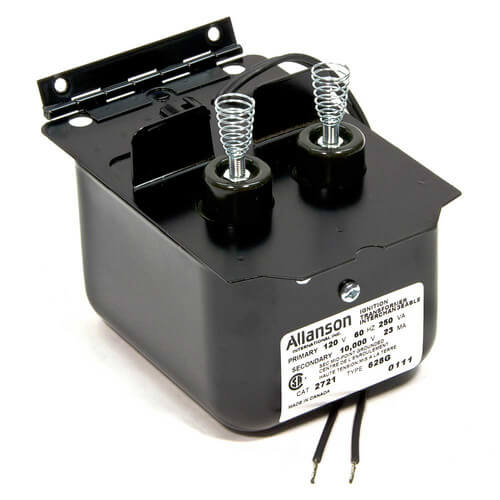 similiar oil furnace transformer keywords allanson 2721 628g ignition transformer for becket a af afg burner acircmiddot oil burner ignition transformer