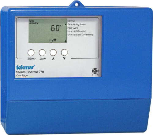 tekmar universal sensor wire steam control one stage product image
