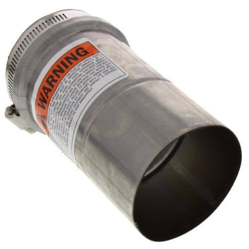"""3"""" x 3 Ft. Z-Vent Single Wall Pipe"""