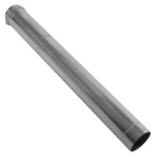"4"" x 4 Ft. Z-Vent Single Wall Pipe"