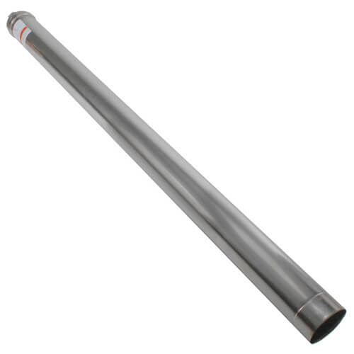 "4"" x 5 Ft. Z-Vent Single Wall Pipe"