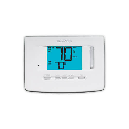 "Non-Programmable 1H/1C Thermostat w/ 3"" Display - Premier Series"