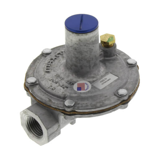 "1/2"" Lever Acting Gas Regulator w/ Vent Limiter (140,000 BTU) Product Image"