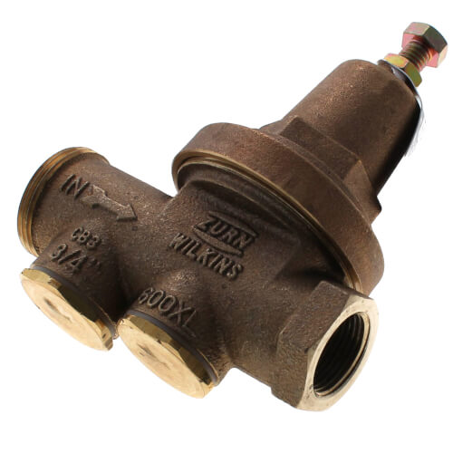 "Zero Lead Bronze 1/2"" PEX Press x 3/4"" Copper Fitting Adapter w/ Attached Sleeve (male)"