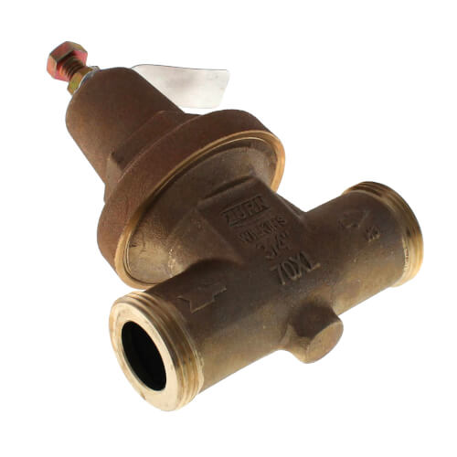 "3/4"" FxF Double Union Pressure Reducing Valve, Lead Free"