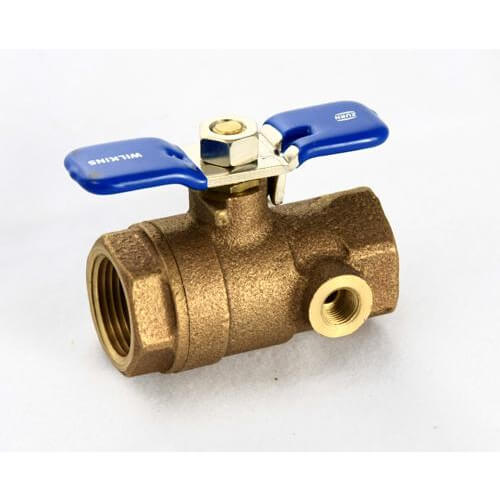 "1"" Tapped IPS Ball Valve"