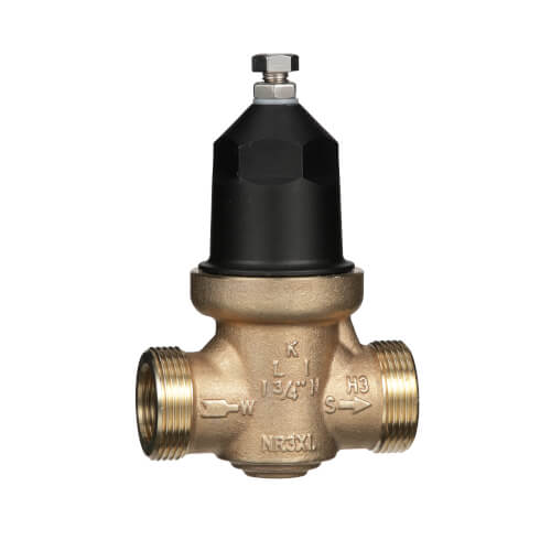 "3/4"" Lead Free Water Pressure Reducing Valve w/ Integral By-Pass Check Valve & Strainer"