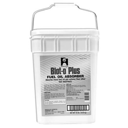 Blot-O-Plus Fuel Oil Absorber (reusable plastic pail) - 15 lb.