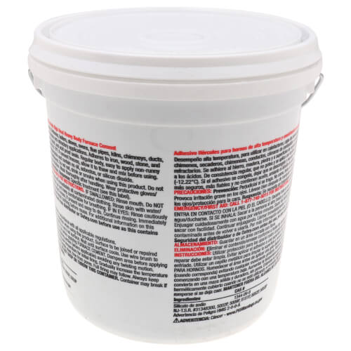1 gal. Heavy Body Furnace Cement