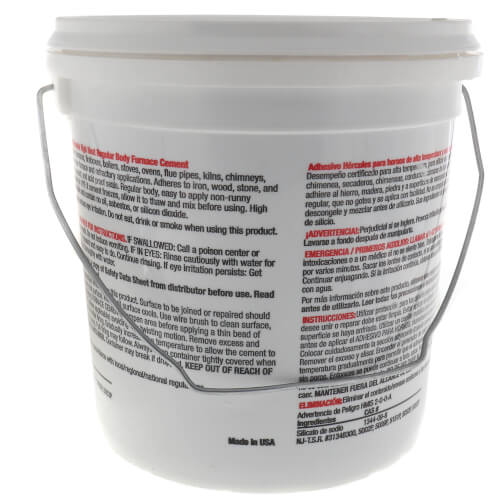 1 gal. Regular Body Furnace Cement