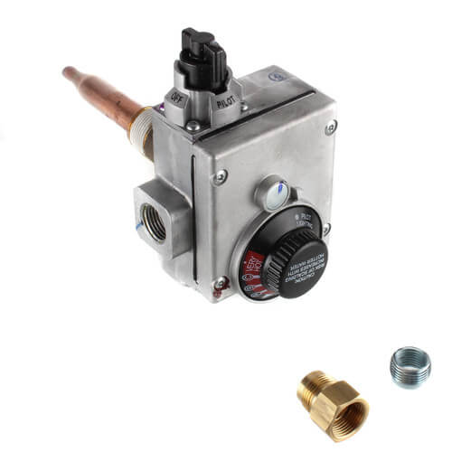 """Water Heater Gas Valve Control, Nat Gas (2-1/4"""" Shank) Product Image"""
