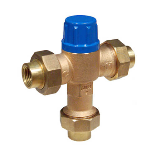 "3/8"" Thermostatic Mixing Valve 95 to 131°F (Compression)"