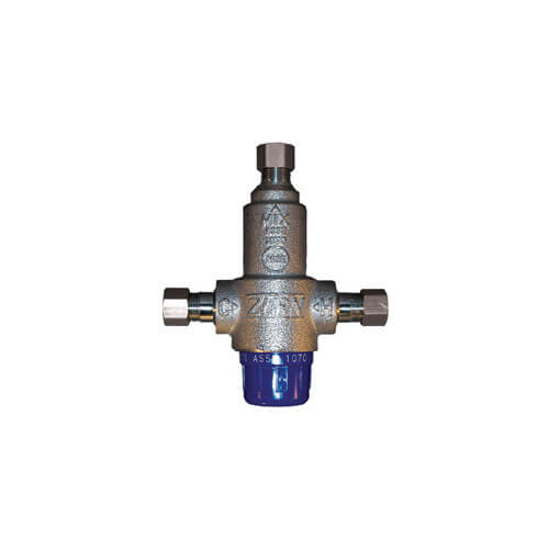 "3/8"" Thermostatic Mixing Valve 95 to 115°F (Compression) Product Image"